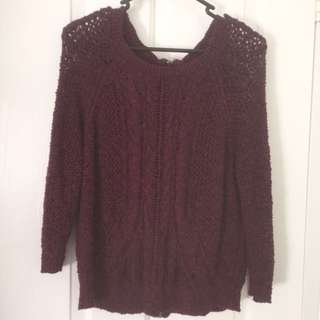 Purple Lucky Brand Jumper