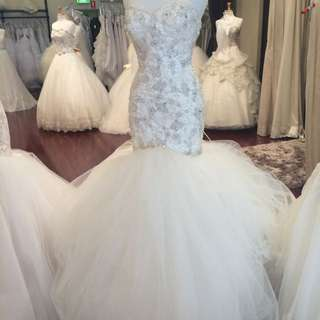 Wedding Dress Mermaid, Bride Idora Bridal