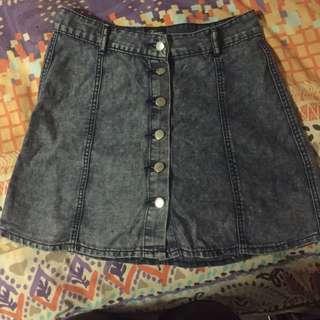 Dream House Denim Skirt