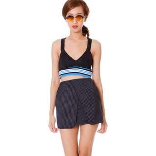 Zara Sports Mid Cropped Top