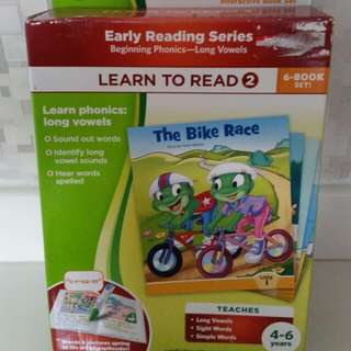 Leapfrog Tag Learn To Read Book Set
