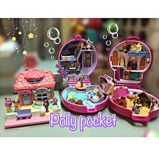 迪士尼Polly Pocket口袋芭比