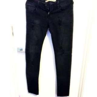 Zara Black Jeans US 4