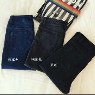 【二手出清】顯瘦鉛筆褲M號 (煙灰色*1件)