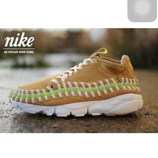 Nike air footscape woven chukka us 10 全新正品