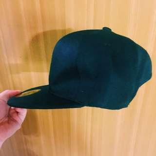 全黑挺版棒球帽