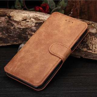 New luxury Leather Stand Case Cover Flip Wallet For iPhone 6/6s (KAMEL)