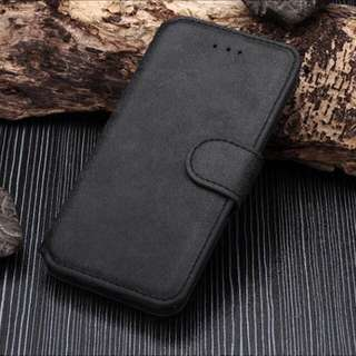 New luxury Leather Stand Case Cover Flip Wallet For iPhone 6/6s (BLACK)