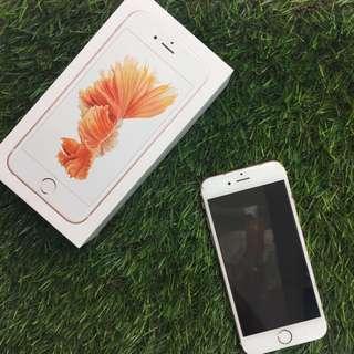 iPhone 6s 16g 玫瑰金 可議
