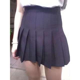 百褶裙(內有安全褲)灰色L號