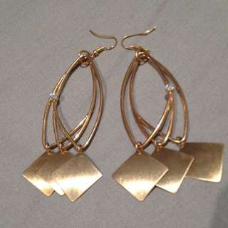Raising Money For Donation..Earings Gold Colour..