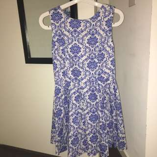 Fit And Flare Day Dress
