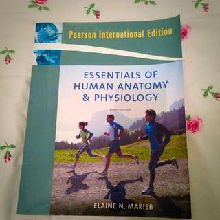 Essentials Of Human Anatomy And Physiology 9th Ed. 2009