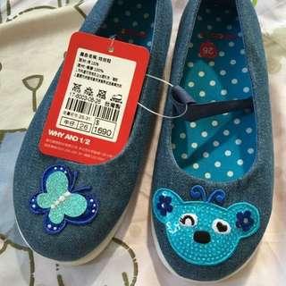 全新1/2鞋子(內長17cm)