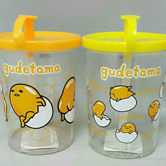 蛋黃哥吸管水杯(2款)