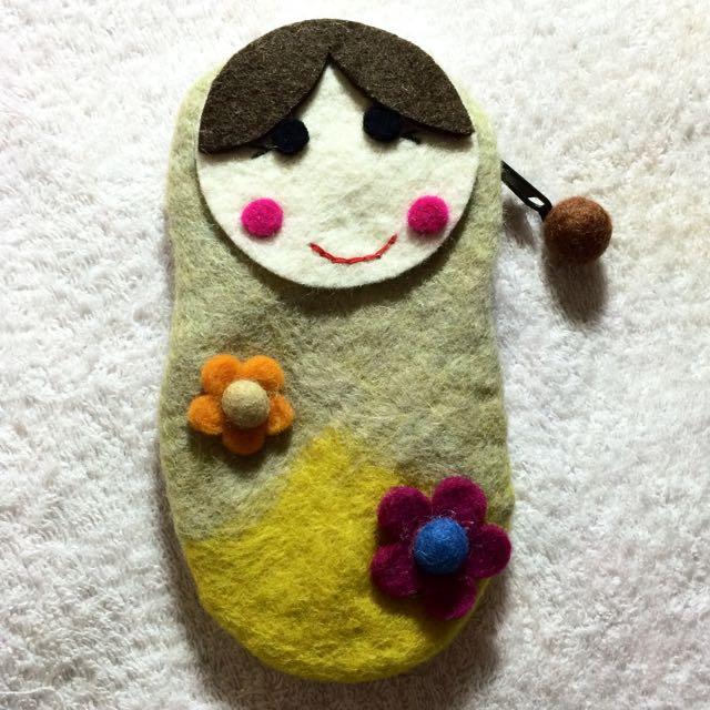 羊毛氈俄羅斯娃娃包