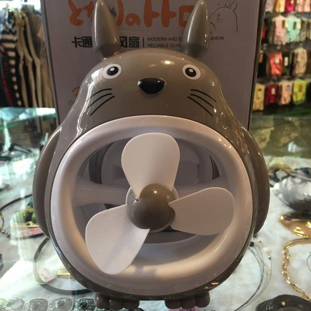可愛龍貓造型風扇