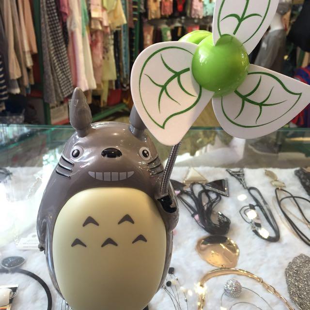 可愛龍貓造型電燈風扇
