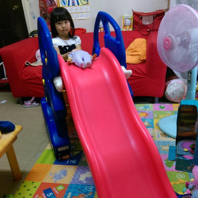 親親 大象溜滑梯,兩種坡度(二手)
