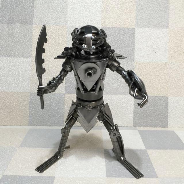 手作 金屬零件製 鐵甲戰士(#70)
