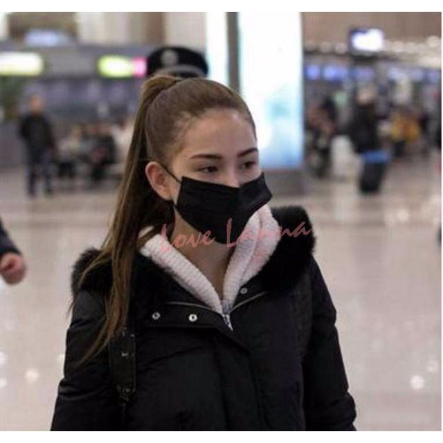 日韓明星 口罩 搖滾 潮流黑 GD 權志龍 宋仲基 出口日本 專業工作服務人員口罩