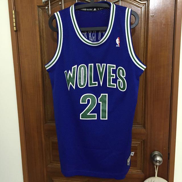 Adidas 籃球衣 Kevin Garnett KG (非jordan Kobe Curry)