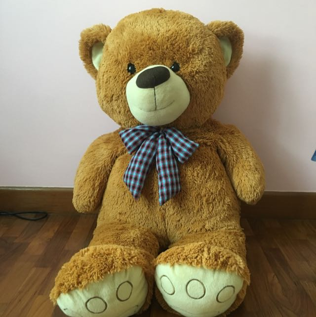 Big bear doll toys games on carousell photo photo photo publicscrutiny Choice Image