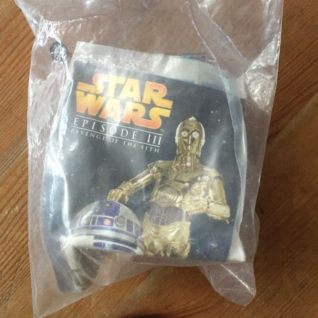 Burger King Star Wars Revenge Of The Sith R2d2 Figurine Toys Games On Carousell