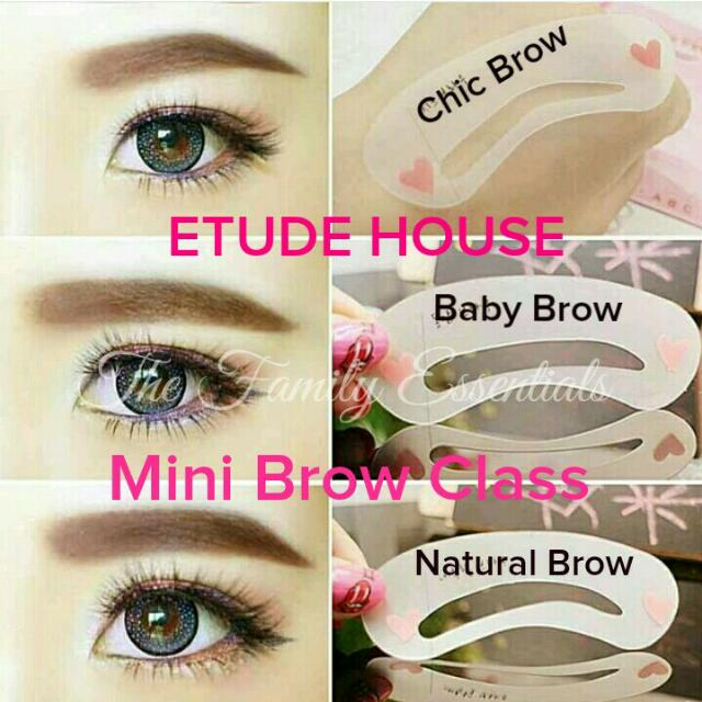 ETUDE HOUSE MINI BROW CLASS, Health & Beauty on Carousell