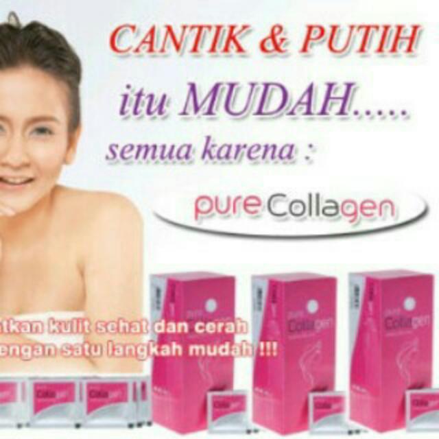 Pure Collagen Is The Best👍👌Jamin Bgs Kulit Anda Bersinar Kembali Pth Bersih😘