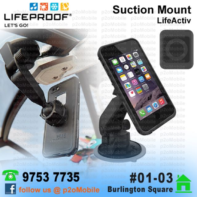 huge selection of 4737e c7b5e LifeProof LifeActiv Suction Mount with QuickMount