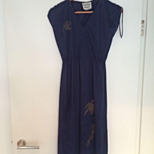 Navy Blue Casual Dress