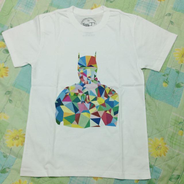 蝙蝠俠七彩幾何菱形T恤(S號)