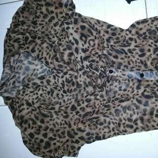 Blousr Leopard