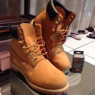 Timberland 10061 經典款黃靴 9號