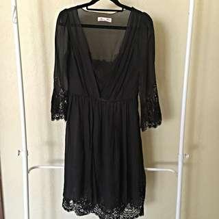 Alannah Hill Sheer Dress