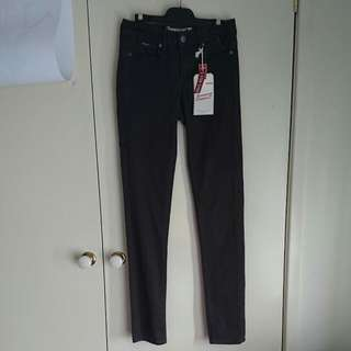 Jeanswest Denim Skinny Jeans Brown Size 6