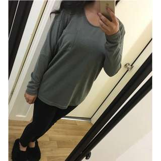Khaki Long Sleeved Knit