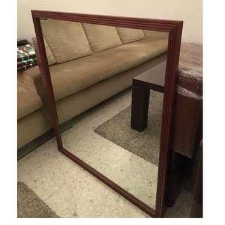 Vintage Mirrors - Square, simple elegance - 98cm x 98cm