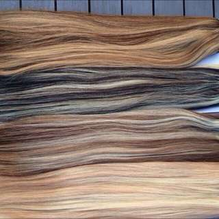 Clip In And Tape Hair Extensions