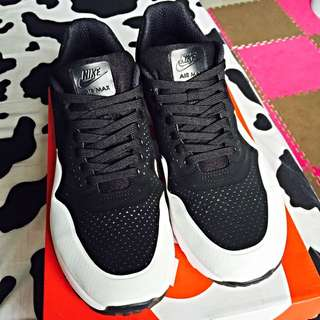 Nike Air max 1 Ultra Moire 二代黑白殺人鯨 US11