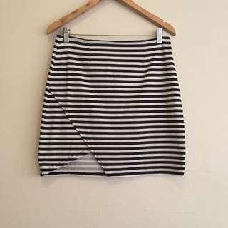 Minkpink Stripe Skirt