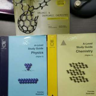 A-level Study Guides - Physics & Chemistry
