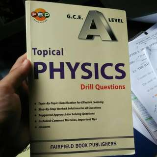A-level Assessment Books - Physics & Chemistry Topical