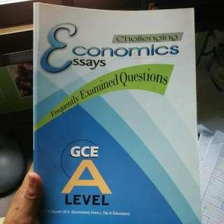 A-level H1/H2 Economics Essays & Notes