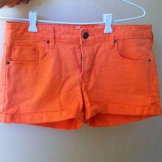 {12} Bright Pink Shorts