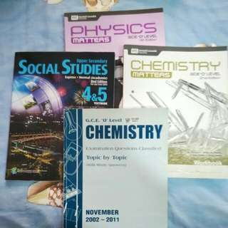 O-level Assessment Books + SS Textbook