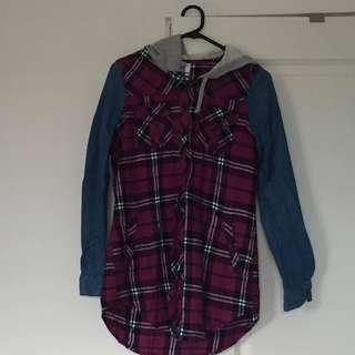 Checked shirt/ jacket