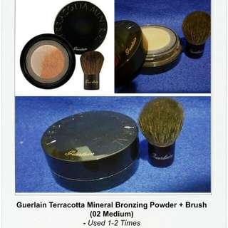 Guerlain Terracotta Mineral Bronzer + Brush