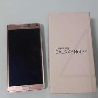 Note 4 Gold <1yo Still Under Warranty